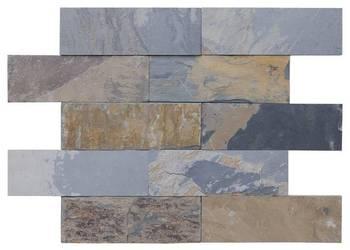 Panele ścienne 10x30 łupek kamień elewacje california gold