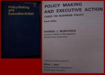 Policy Making and Executive Action - po angielsku