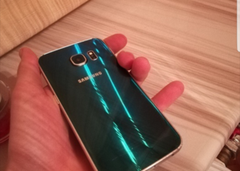 Samsung Galaxy s6 Edge zielony