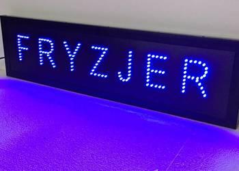 FRYZJER LED reklama 77x20cm NOWA PRODUCENT
