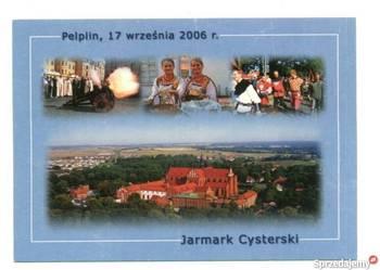 POCZTÓWKA - POMORSKIE - JARMARK CYSTERSKI - PELPLIN