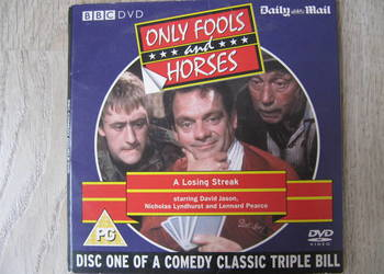"Serial komediowy BBC na DVD ""Only fools and horses"""