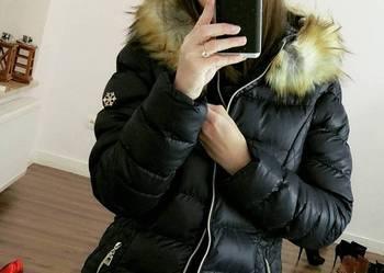 Kurtka Damska Zimowa Futerko Kaptur #106 FASHIONAVENUE.PL