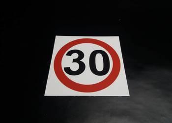 ZNAK OGRANICZENIE PRĘDKOŚCI 30 km/h
