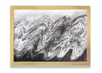 nowoczesna grafika do domu,czarno biały rysunek do pokoju