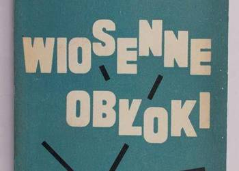 WIOSENNE OBŁOKI - Sigrid Undset /fa