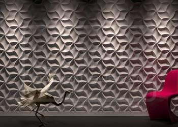 Panel ścienny 3D MERINGUE panele gipsowe dekoracyjne