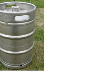 Beczka keg 50l na destylator, beczki po piwie kegi keg 50l