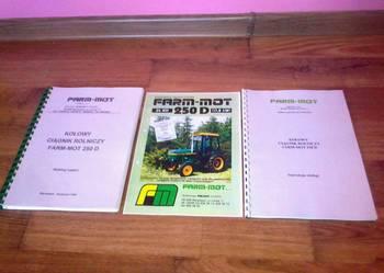 Farm-Mot 250D książki Far-Mot Farm Mot Far Mot Farmmot Farmot części katalog części instrukcja obsługi
