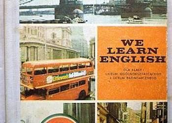 WE LEARN ENGLISH I - ZAWADZKA ANNA