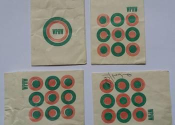 Torebki papierowe WPHW z lat 80. XX wieku