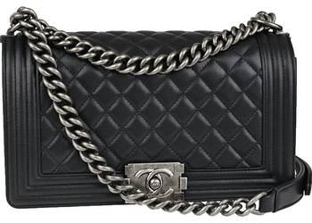 torebka CHANEL BOY klasyczna czerń pikowana