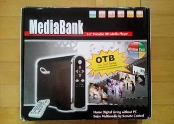 Obudowa/Kieszeń multimedialna MEDIABANK ME-747AP-SI DYSK 500