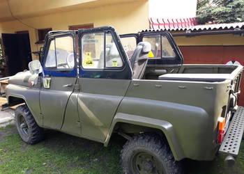 UAZ silnik Mercedes