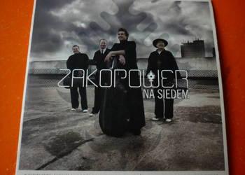 """Płyta CD Zakopower """"Na siedem"""" Karpiel Bułecka Pospieszalski"""