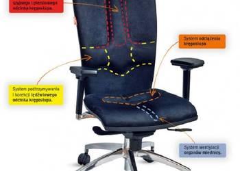 Komputerowe krzesło Galaxy Kulik System zdrowe_siedzenie