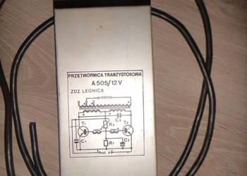 Przetwornica tranzystorowa A505/12V