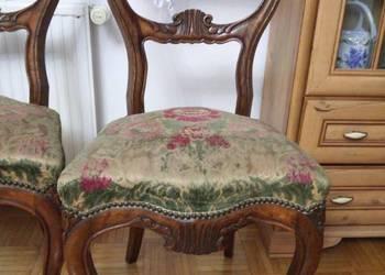 Krzesła ludwikowskie 2 szt