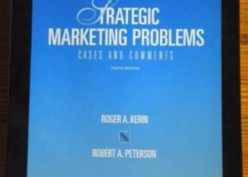 Strategic marketing problems (Kerin, Peterson) - po angielsk