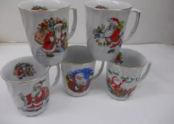 Kubek porcelanowy ŚWIĄTECZNY Święty Mikołaj
