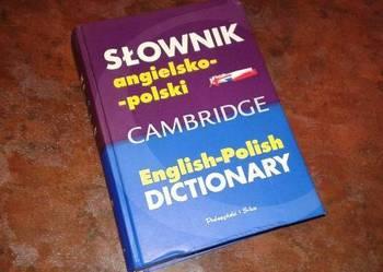 słownik angielsko-polski Cambridge
