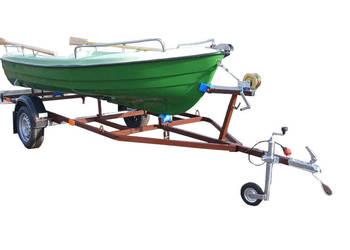 Łódka 5 osobowa + przyczepka z homologacją