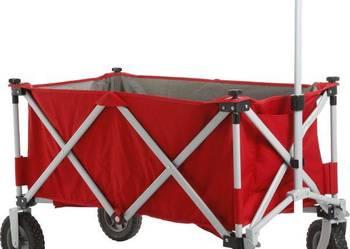 Brunner Cargo - Wózek transportowy składany na plażę kemping