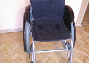 Sprzedam lekki, aktywny,aluminiowy wózek inwalidzki