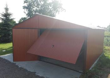 GARAŻE BLASZANE, garaż blaszany, hale, wiaty