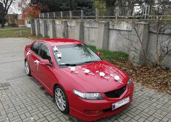 Czerwona Honda do ślubu