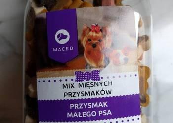 Mix mięsnych przysmaków. Przysmak dla psa słoilk 300 g.