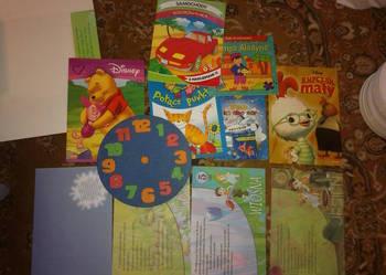 Duży zestaw książeczek / kolorowanek dla dziecka , jak nowe!