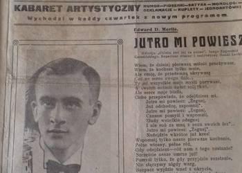 Trubadur Warszawy - Tygodniki Artystyczne z 1933r.