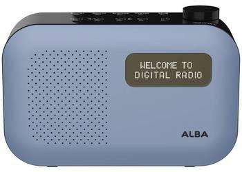 Radio przenośne ALBA - Niebieskie
