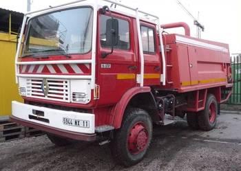 4x4 Wóz strażacki Renault S170 4x4 rok 1993 zab Sides 6000 l