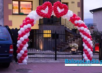Bramy balonowe, dekoracje balonowe, girlandy z balonów