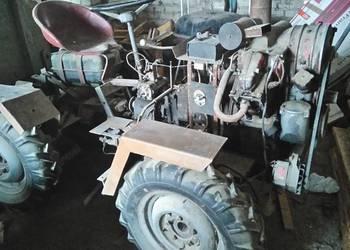 Traktorek 4x4 samoróbka łamany- silnik RS 09