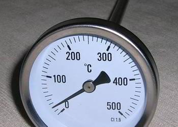 Termometr tarczowy 0+500stC z sondą 300mm