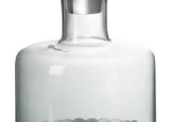 Karafka do alkoholu wykończona aluminium 1 litr