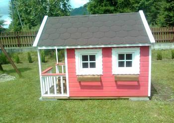 domek dla dzieci ogrodowy, malowany!!!solidnie wykonany