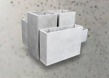 Donice z betonu architektonicznego- każdy wymiar