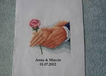 Pamiątki ślubu rocznicy wesela