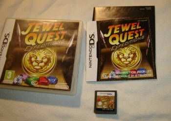 Jewel Quest Expeditions Nintendo DS