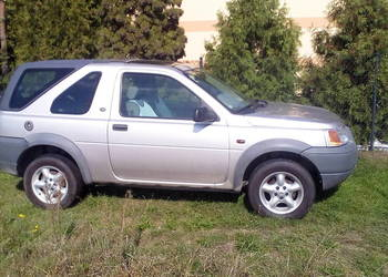 land Rover Freelander 1999 1.8l Benz uszkodzony