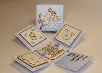 pamiątka narodziny dziecka kartka narodziny dziecka box