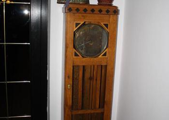 zegar stojący podłogowy antyk
