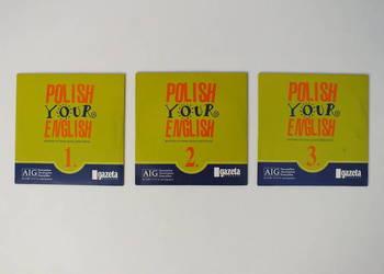POLISH YOUR ENGLISH kurs angielskiego Komplet 3 płyt CD