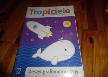 """Zeszyt  grafomotoryczny ,, Tropiciele""""dla przedszkolaków"""