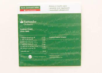 Santander orchestra Chopin, Krzysztof Książek fortepian