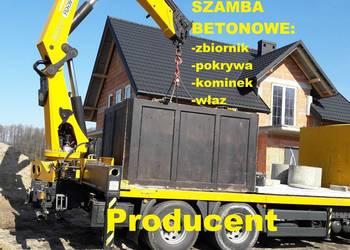 Zbiornik betonowy 9m3 studzienka na Szambo Szamba z Atestem